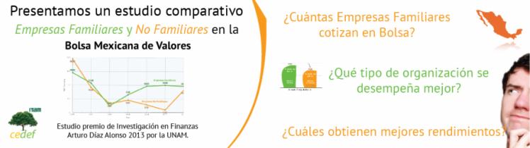 Empresas Familiares y No Familiares en la Bolsa Mexicana de Valores