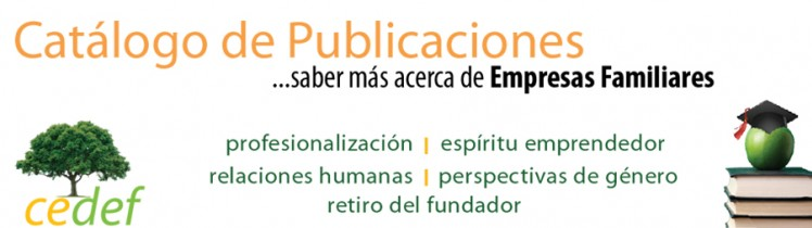 CEDEF Catálogo de publicaciones